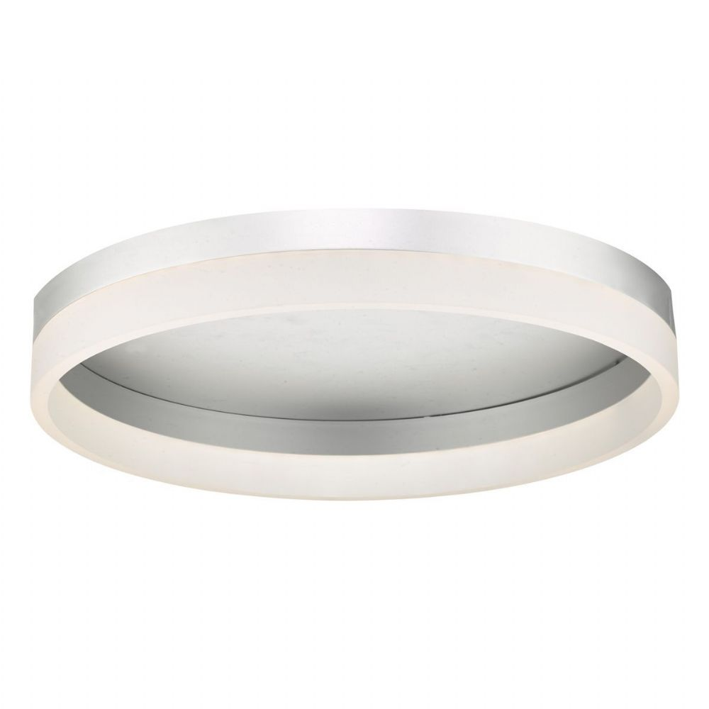 Tybalt Flush Silver & Acrylic LED (double insulated) BXTYB5032-17